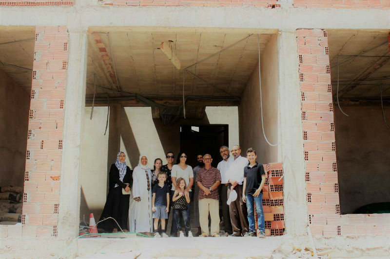 givelight children orphans africa morocco home new construction